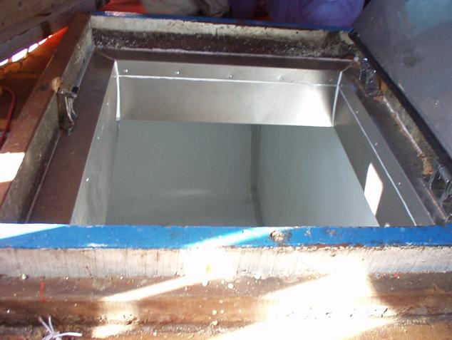 Phun trực tiếp xốp PU Hầm tầu biển